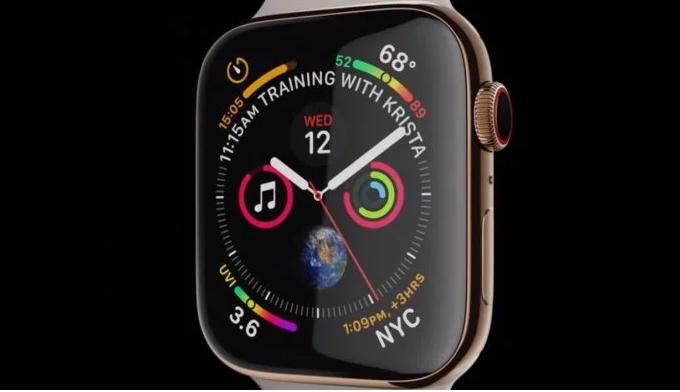 93deed25985 Apple Watch Series 4 é anunciado com tela maior e com app de  eletrocardiograma
